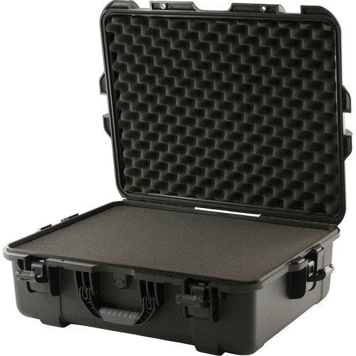 Turtle 549 ATA-Certified Waterproof Customizable Hard Case with Cubed Foam Insert (Black)