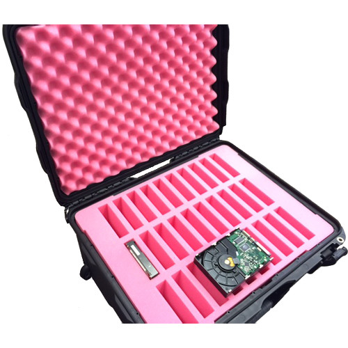 """Turtle Hard Drive Case for 30 3.5"""" Drives"""