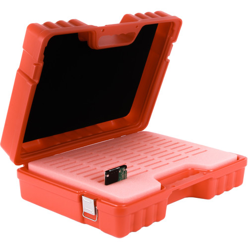 "Turtle Custom-Fit Hard Case for 50 2.5"" Hard Drives (Red)"