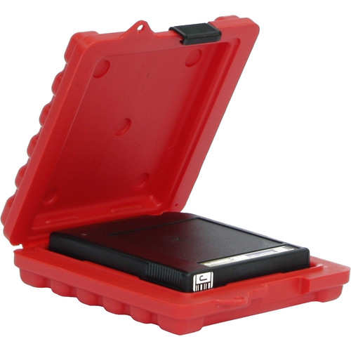 Turtle Mailer Case for One 3592/3590/T10K/9940 Size Tape (Red)