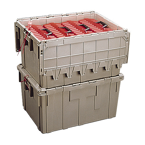 Turtle Master 4 Plastic Tub for Four 20-Capacity LTO-Size Turtle Cases (Gray)