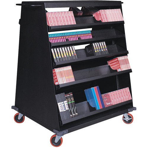 Turtle Multi Media Cart with Eight Shelves for 240 LTO-Size Tapes