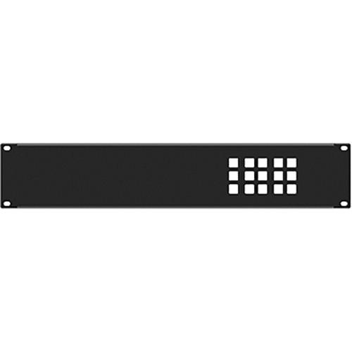 TV One European Wall-Plate Rack Mount for 1T-CL-322-EU Control Panel (2 RU)