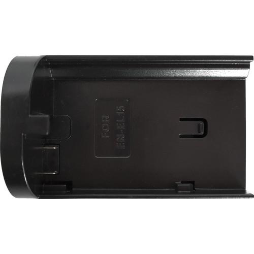TVLogic Battery Adapter for VFM-055A Monitor (Nikon EN-EL15 Series)