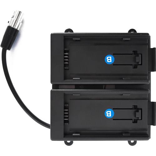 TVLogic Battery Bracket for VFM-055A Monitor (Panasonic AF-100)