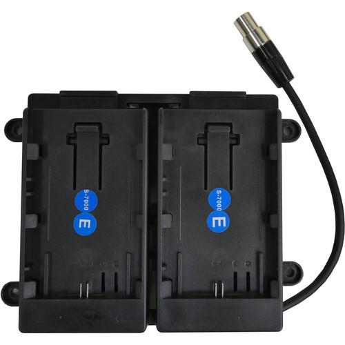 TVLogic Dual 7.4V Canon LP-E6 Battery Bracket for VFM-056WP Monitor