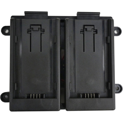 TVLogic 7.4V Battery Bracket for Panasonic AF100 Batteries (Dual)