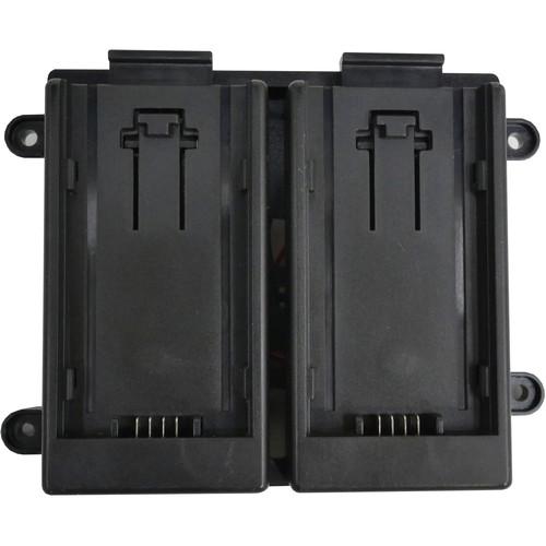 TVLogic 7.4V Battery Bracket for Panasonic AF100 Batteries (Dual)