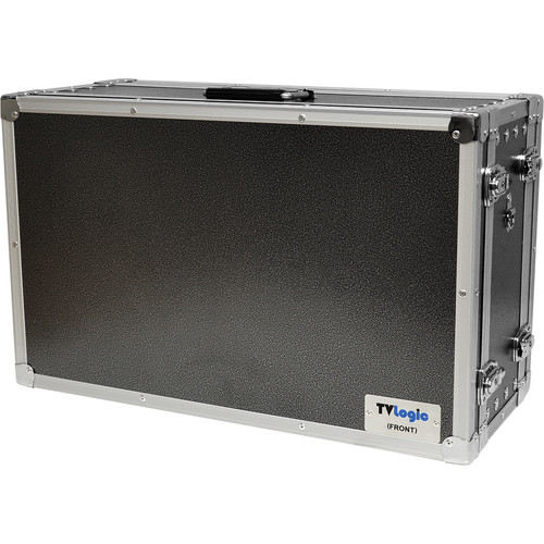 TVLogic Dual Door Aluminum Carrying Case For  LVM-240 SERIES