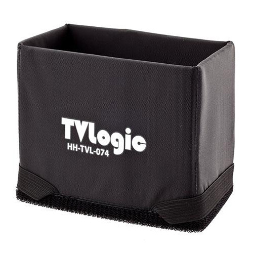 "TVLogic Hoodman Water-Resistant Touch Fastener/Elastic Hood for LVM & SRM 7"" Monitors"