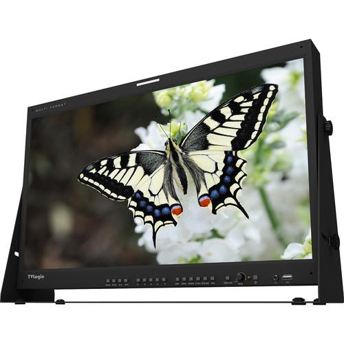 """TVLogic LUM-240G 24"""" UHD 4K 12G-SDI Single-Link IPS LCD Monitor"""