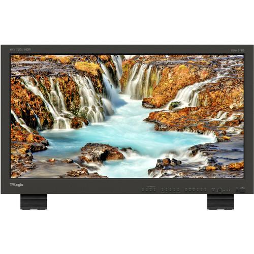 "TVLogic 31.1""True 4K Monitor,4096x2160 10 Bit Super IPS LCD,14501 Contrast Ratio, HDR Emulation2X12G,2X6G-SD"