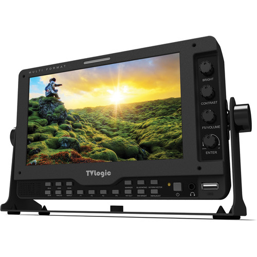 """TVLogic LVM-075A 7"""" Full HD Monitor with Stand"""