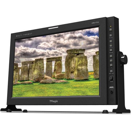 """TVLogic LVM-171A 17"""" Full HD 3G-SDI/HDMI IPS Multi-Format Field Monitor"""