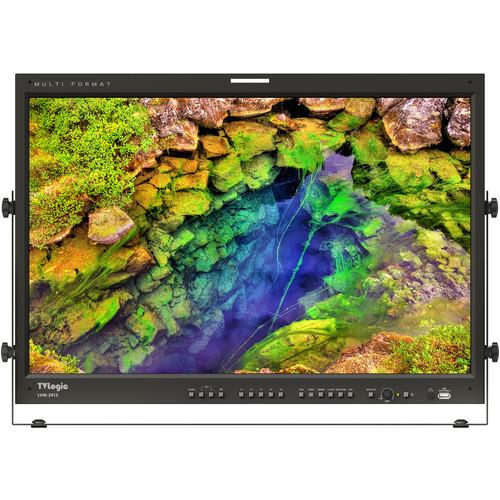 "TVLogic 24"" 1920x1200(True 10 Bit)QC-Grade Super-IPS LCD Monitor,2x3G/HD/SD-SDI Inps & Out, DVI-I & HDMI In"