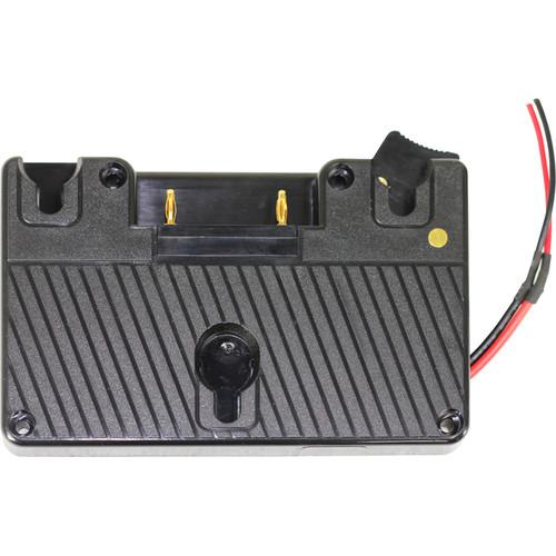 TVLogic Gold Mount Battery Bracket for LVM-070C/074W/075A & SRM-074W Monitors