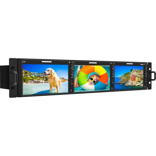 TVLogic 12G-SDI Supported 3 x 5.5 LCD Full HD Screen