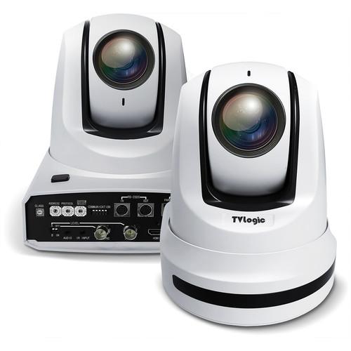 TVLogic PTZ Camera, 1/2.8Inch 2.14 Mega Pixels Exmor Cmos Sensor, Max. Resolution 1920X1080/60P, Optical 30X