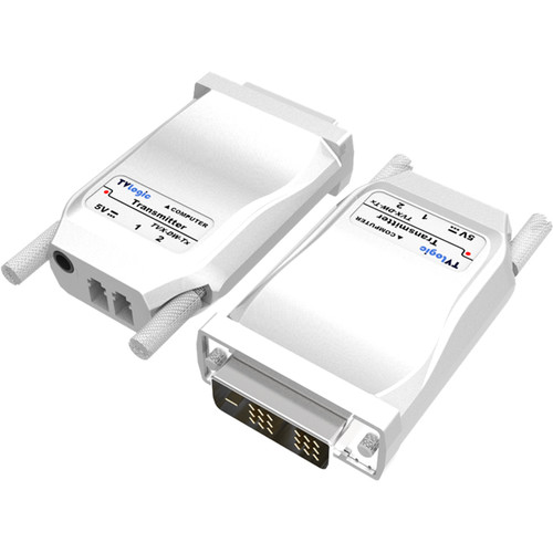 TVLogic 2-Channel DVI to Fiber Optic Receiver Module (Up to 1.2 miles)