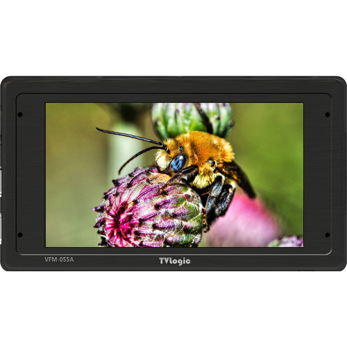 "TVLogic VFM-055A 5.5"" OLED High-Contrast 3G-SDI & HDMI Monitor"