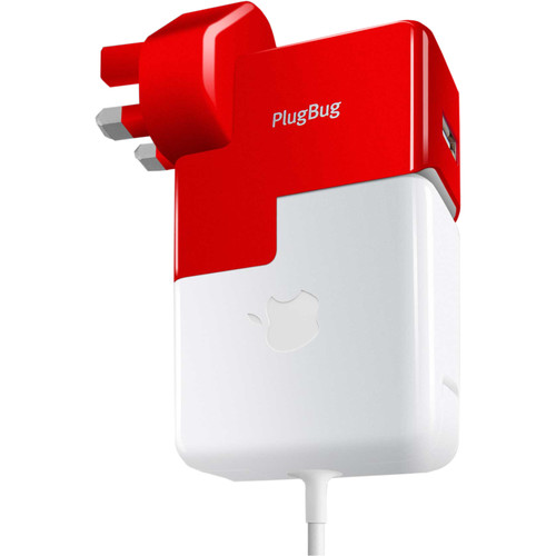 Twelve South PlugBug World MacBook Global Adapter with USB Port (Bulk Packaging)