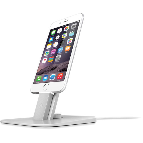 Twelve South HiRise Deluxe for iPhone, iPad, & Apple Siri Remote (Silver)