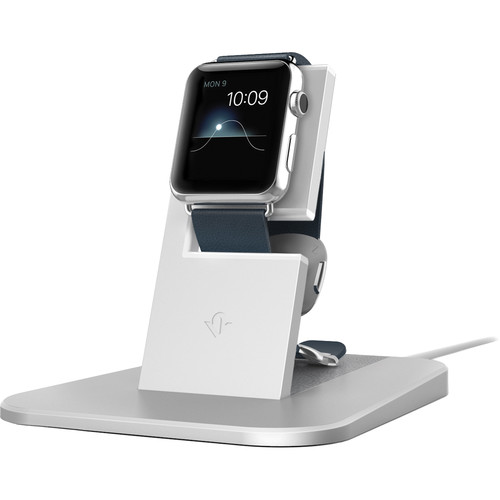 Twelve South HiRise Stand for Apple Watch (Silver)