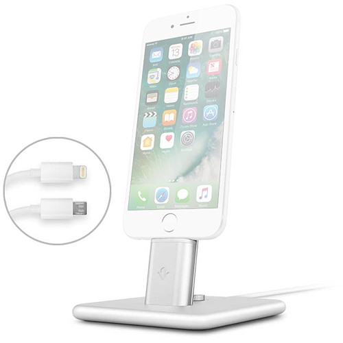 Twelve South HiRise 2 Deluxe for iPhone & iPad (Silver)