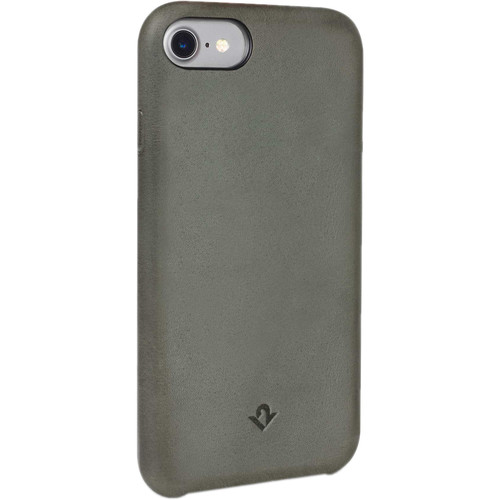 Twelve South Relaxed Leather Case for iPhone 6/6s/7/8 (Dried Herb)