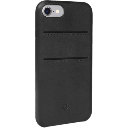 Twelve South Relaxed Leather Case with Pockets for iPhone 7 (Black)