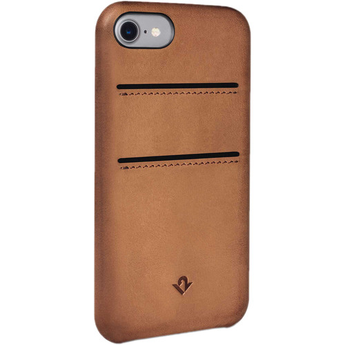 Twelve South Relaxed Leather Case with Pockets for iPhone 7 (Cognac)