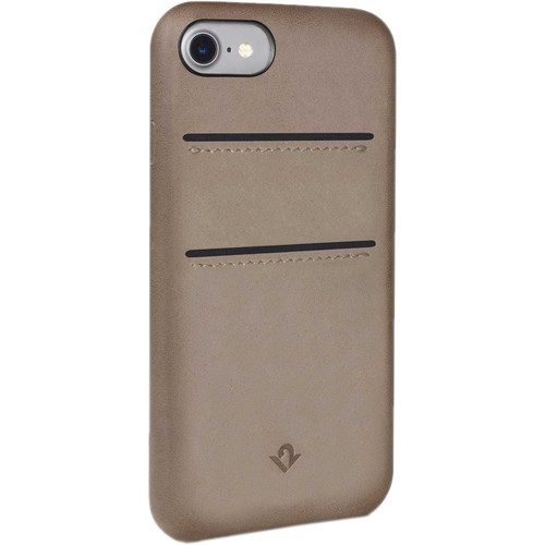 Twelve South Relaxed Leather Case with Pockets for iPhone 7 (Warm Taupe)