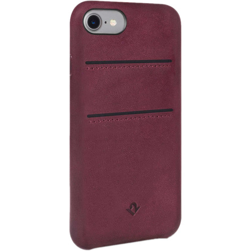 Twelve South Relaxed Leather Case with Pockets for iPhone 6/6s/7/8 (Marsala)