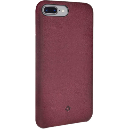 Twelve South Relaxed Leather Case for iPhone 6 Plus/6s Plus/7 Plus/8 Plus (Marsala)