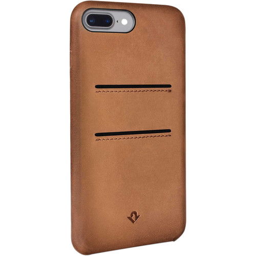 Twelve South Relaxed Leather Case with Pockets for iPhone 7 Plus/8 Plus (Cognac)