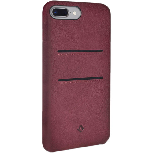 Twelve South Relaxed Leather Case with Pockets for iPhone 7 Plus/8 Plus (Marsala)
