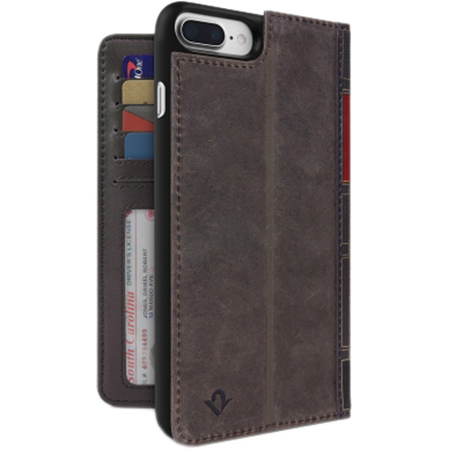 Twelve South BookBook for iPhone 7 Plus/8 Plus (Vintage Brown)