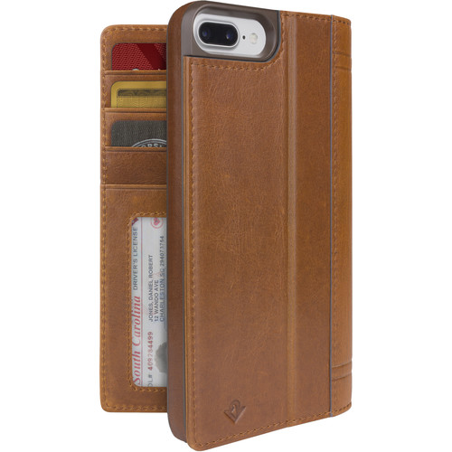 Twelve South Journal Case for iPhone 6 Plus/6s Plus/7 Plus/8 Plus (Cognac)