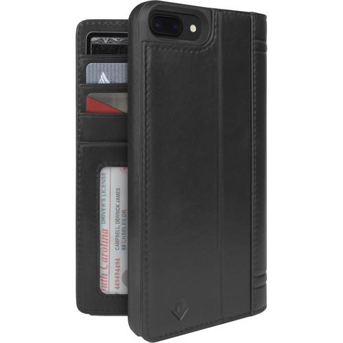 Twelve South Journal Case for iPhone 6 Plus/6s Plus/7 Plus/8 Plus (Black)
