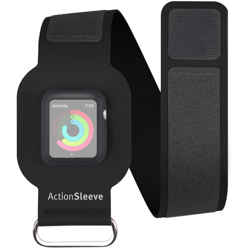 Twelve South ActionSleeve for 38mm Apple Watch (Black)