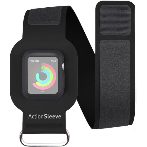 Twelve South ActionSleeve Slim for 42mm Apple Watch (Black)