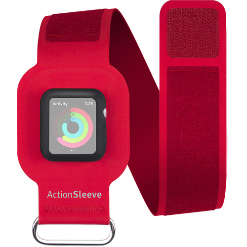 Twelve South ActionSleeve for 38mm Apple Watch (Red)
