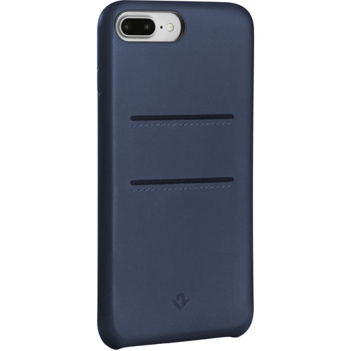 Twelve South Relaxed Leather Case with Pockets for iPhone 7 Plus/8 Plus (Indigo)