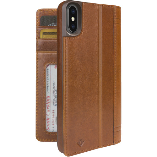 Twelve South Journal Case for iPhone X (Cognac)