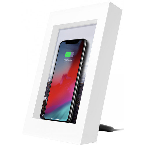 Twelve South PowerPic Qi Wireless Charging Photo Frame (White)