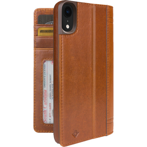 Twelve South Journal Case for iPhone XR (Cognac)