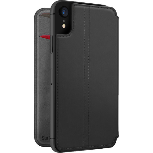 Twelve South SurfacePad Leather Cover for iPhone XR (Black)