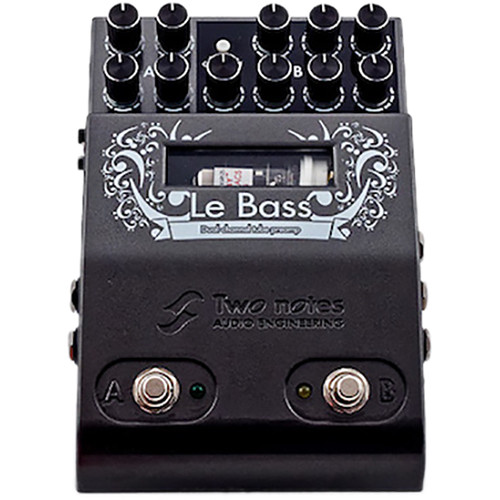 Two Notes Le Bass Two-Channel Tube-Driven Bass Preamp Pedal