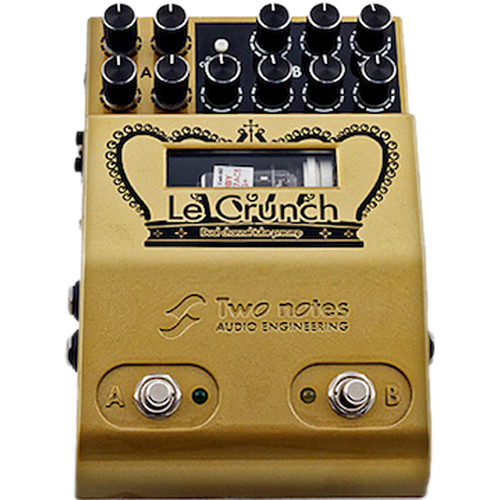 Two Notes Le Crunch Two-Channel Tube-Driven Preamp Pedal