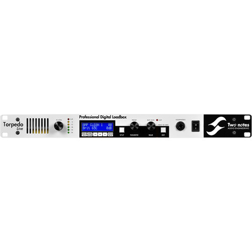 Two Notes Torpedo Live Digital Loadbox for Electric Guitars & Basses